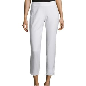 Eileen Fisher | NWT Stretch Crepe Slim Ankle Pant